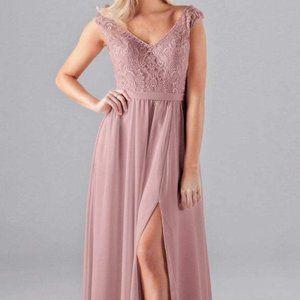 KENNEDY BLUE Morgan Desert Rose Dress Bridesmaid 8